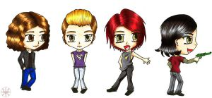 The Fabulous Killjoys-My Chem by RikuHikari-Neo