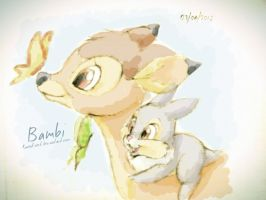 Bambi by RavenEvert