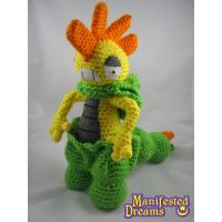 Shiny Scrafty crocheted amigurumi plush by ManifestedDreams