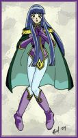 Sylphiel from the Slayers by Enkida