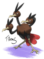 Dodrio by T-Reqs