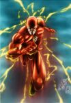 OLDIES: The Flash (colors) by FantasticMystery