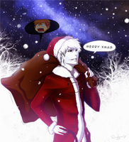 Merry Xmas from Shiro! | BLEACH by DivineImmortality