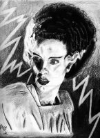 Bride of Frankenstein by Vicki-Death
