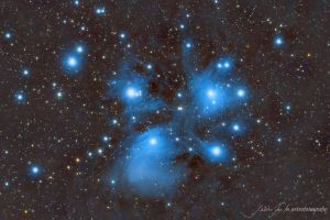 Pleiades by whiteLion07
