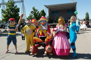 The Super Smash Bros. Group by CosplayButterfly