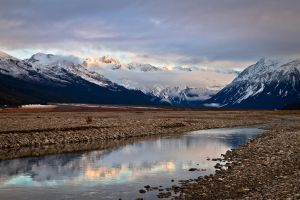 Waimakariri River by Niv24