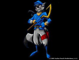 Sly Cooper by silver115