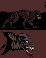 werewolf concept by Spoonfayse