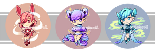 [ Open ] Auction: Adoptable Set 3 by moonstarinc