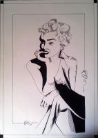 Marylin Monroe by celinissime