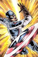 Captain America - color by BrunoBull