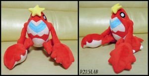 Crawdaunt Plush by d215lab