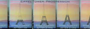 Eiffel Tower Progression by strryeyedreamr27