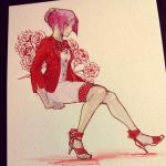 Red Carnation by onedayfour