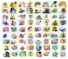 The Real Ghostbusters: 72 Paintings! by littlereddog