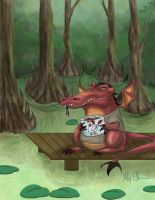 What do dragons like to eat Part 3 by pinksnowdevil