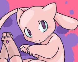 a wild mew appears by MidoriKappa