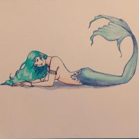 Mermaid by minesinger