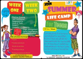 Summer life camp by 7amada
