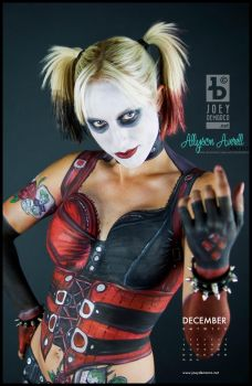 Harley Quinn Body Paint by JoeyDeMarco