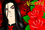 Roses for Alucard by Annie-O