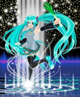 Miku Music Lake by Randwill