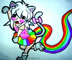 Request: Nyan cat ryou by taytaym2