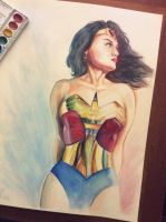Wonder Woman by piscura