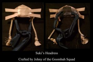 Suki Headdress by Goomba-Squad