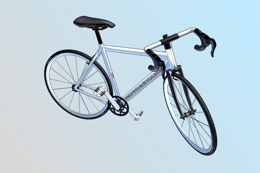 Bicycle.pmx for MMD by vasilnatalie
