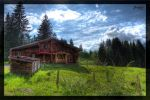 Barn at Oberstdorf by deaconfrost78