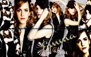 EmmaWatson Wallpaper by AnelEditons