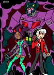 BEN 10 AND THE TRANSFORMERS 2 by VectorMagnus2011