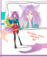 Adoptable Auction #2_Fox-tyan {CLOSED} by Allen-Jiyu