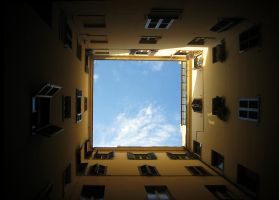 framing courtyard by doubledeezy