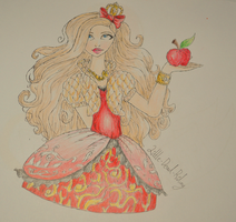 'My Happily Ever After' Apple White by Little-Dead-Riding