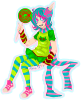 Trickster!Roxy by DemonicLollipop