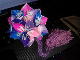 60 Piece Kusudama and Tassel by kizgoth
