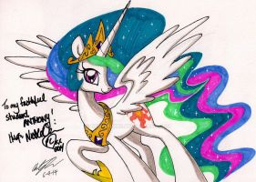 Signed by Nicole Oliver by newyorkx3