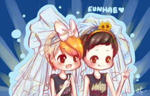.::EunHae Wedding::. by Del-Hee-Cious