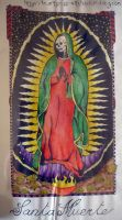 santa muerte couleurs by Heartsless-Witch