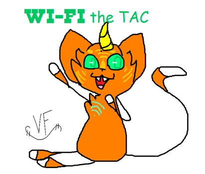 New oc WI-FI the TAC by TheDizzyFox