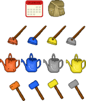 Garden Tools Icon Commission by tahbikat