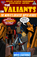 Valiants no 1 mock cover by Joe-Singleton