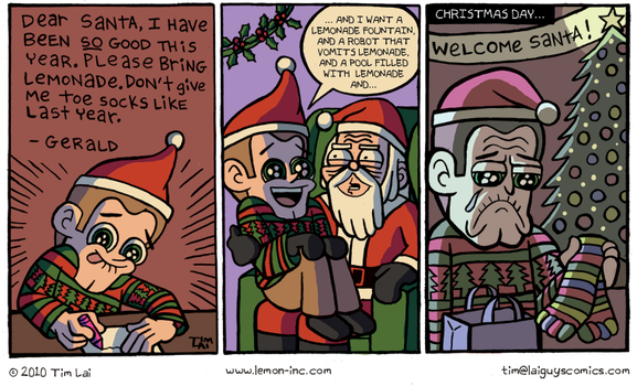 Lemon Inc Holiday Special 2010 by timlai