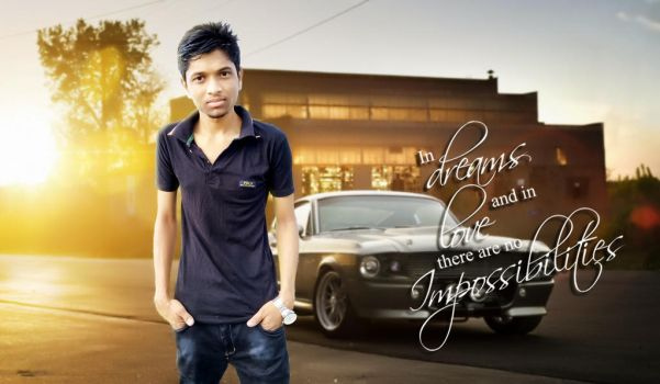 Ford Mustang Efther Hossain by eftherhossain