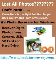 Photos Recovery tool Inspired by WS Data Recovery by wsdatarecovery