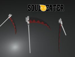 Soul Eater:Soul - Weapon by blackdragonstory