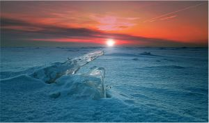 Ice, Snow and Sunset... _4 by my-shots